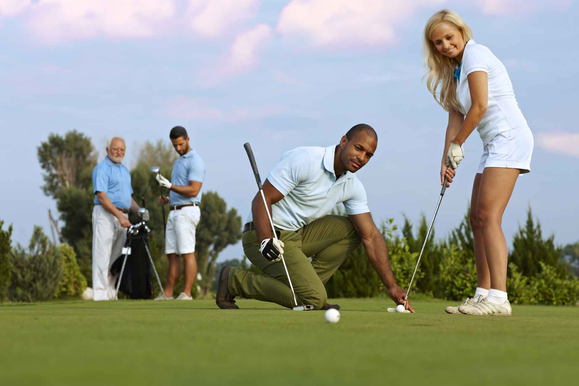 Websites for Golf Pros